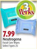 Neutrogena  Facial Care Wipes
