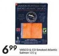 Vasco & Co Smoked Atlantic Salmon