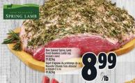 New Zealand Spring Lamb Fresh Boneless Lamb Leg