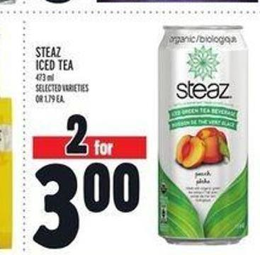 Steaz Iced Tea