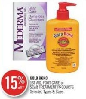 Gold Bond 1st Aid - Food Care Or Scar Treatment Products