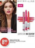 Maybelline New York Superstay or Colorstay Lip Colour
