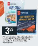 PC Smoked Salmon 150 G