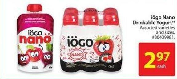 Iögo Nano Drinkable Yogurt