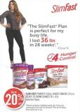 Slim-fast Powder (530g) - Baked Snacks (5's) or Ready To Drink Shakes (4's -8's)