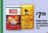 Robin Hood Or Five Roses All Purpose Flour - 5 Kg