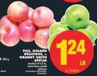 Fuji - Golden Delicious - or Granny Smith Apple.