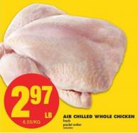 Air Chilled Whole Chicken