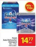 Finish Auto Dishwasher Detergent 80s-110s