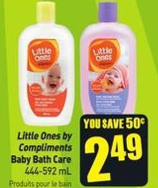 Little Ones By Compliments Baby Bath Care 444-592 mL