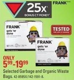 Selected Frank Garbage and Organic Waste Bags