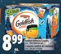 Goldfish Halloween Crackers 50 Un. -