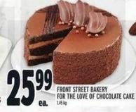 Front Street Bakery For The Love Of Chocolate Cake