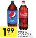 Pepsi or Coca-cola Soft Drinks