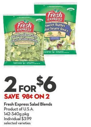 Fresh Express Salad Blends