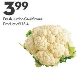 Fresh Jumbo Cauliflower