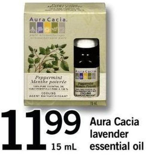Aura Cacia Lavender Essential Oil - 15 Ml