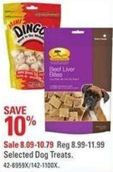 Selected Dog Treats