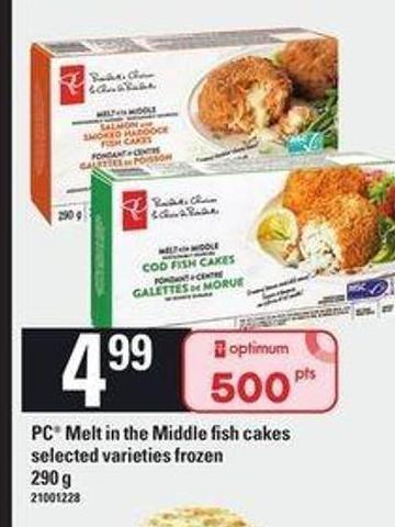 PC Melt In The Middle Fish Cakes - 290 g