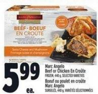 Marc Angelo Beef Or Chicken En Croûte