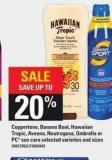 Coppertone - Banana Boat - Hawaiian Tropic - Aveeno - Neutrogena - Ombrelle Or PC Sun Care