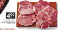 Fresh Pork Loin Centre or Rib Chops or Korean Bbq Glazed Chops 5.99/lb/13.21/kg