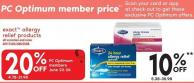 Exact Allergy Relief Products
