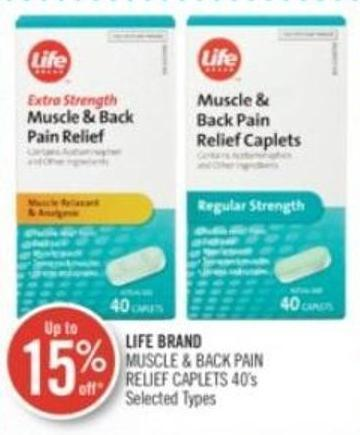 Life Brand Muscle & Back Pain Relief on sale | Salewhale ca