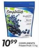 Compliments Frozen Fruit
