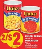Unico Beans - 540 mL Or Tomatoes - 796 mL