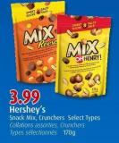 Hershey's Snack Mix - Crunchers  Select Types