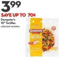 Dempster's  10in Tortillas