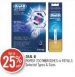 Oral-b Power Toothbrushes or Refills