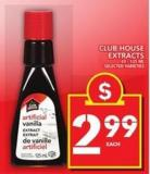 Club House Extracts
