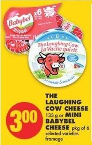 The Laughing Cow Cheese 133 G Or Mini Babybel Cheese Pkg Of 6