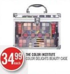 The Color Institute Color Delights Beauty Case