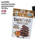 Barkthins Snacking Chocolate - 150-156 g