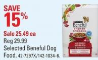 Purina Selected Beneful Dog Food