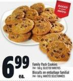 Family Pack Cookies 744 - 768 g