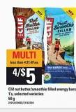 Clif Nut Butter/smoothie Filled Energy Bars - 1's - 50 g