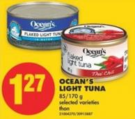 Ocean's Light Tuna - 85/170 g