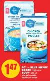 PC or Blue Menu Broth 900 mL or Soup 500 mL