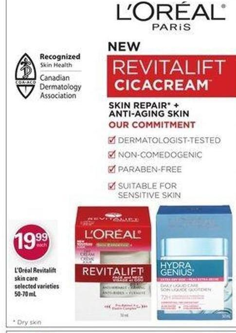 L'oréal Revitalift Skin Care - 50-70 mL