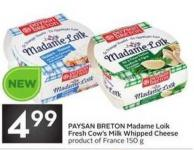 Paysan Breton Madame Loik Fresh Cow's Milk Whipped Cheese