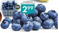 Pint Blueberries Product of USA No. 1 Grade