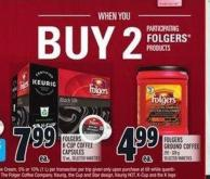 Folgers K‑cup Coffee Capsules