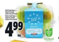 Cold Snap Pears | Poires Cold Snap