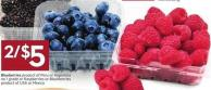 Blueberries Product of Peru or Argentina No 1 Grade or Raspberries or Blackberries