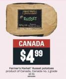 Farmer's Market Russet Potatoes