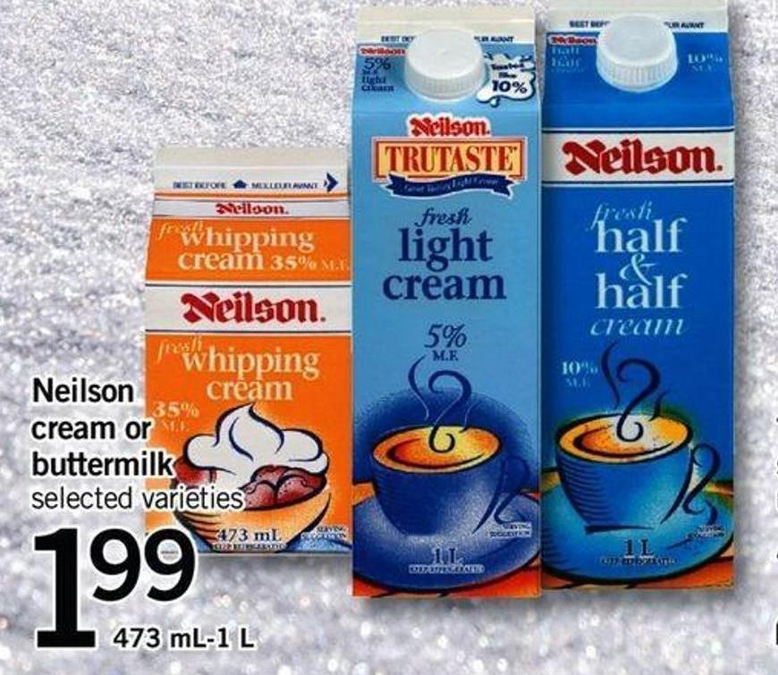 Neilson Cream Or Buttermilk - 473 Ml-1 L